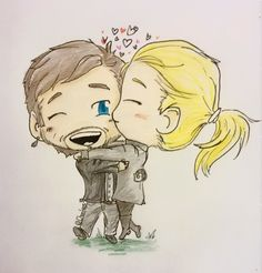 Love this!!! Hook and Emma art