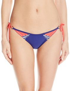 Body Glove Women's Victory Tie Side Brasilia Bikini Bottom -- You can get more details by clicking on the image.