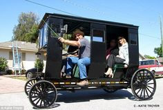 Traveling in style: Not just the Amish like to ride in Pinecraft's solar-powered buggies
