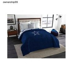 Dallas Cowboys Comforter Kids Twin Full Size Bedding NFL Football Team Logo Boys…