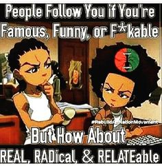That's Reality, The Boondocks Dope Cartoons, Dope Cartoon Art, Black Cartoon, Boondocks Quotes, Boondocks Drawings, Boondocks Comic, Black History Quotes, Black History Facts, Black Comics