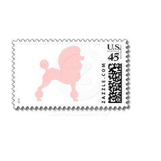 Poodle Stamp