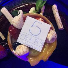 Special dessert to celebrate 5 fabulous years of the oh so @Luxperience @fourpointssydney #dessert #soluxperience #ilovesydney #yum #delicious #party