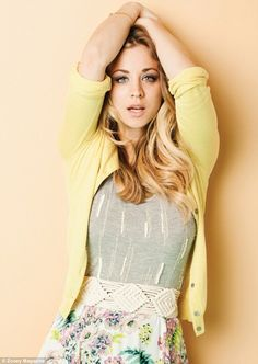 Pin-up: Cuoco embraces her inner nerd via the show, but many nerds would love to embrace her