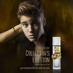 Justin Bieber Launches New Fragrance 'Collector's Edition'