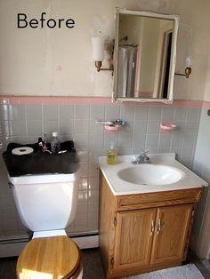 Amazing Budget Bathroom Makeover