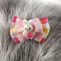 Cute Rabbit Style Pet Dogs, Cats Hair Bow