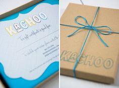 Cute gift card packaging