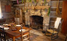 Peter Whitmer Log Home