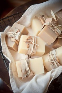 Natural soap cakes