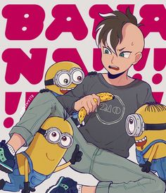 Pixiv Id 1495088, Despicable Me, Inazuma Eleven, Minion (Despicable Me), Fudou Akio