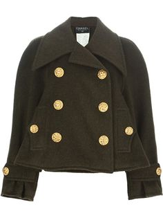 CHANEL VINTAGE - double breasted jacket from A.N.G.E.L.O. VINTAGE PALACE