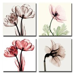 BANMU 4pcs Modern No Framed Artwork Abstract Giclee Prints Floral Paintings Pictures to Photo on Canvas Print for Wall Decor //Price: $3.26 & FREE Shipping //     Sale Depot http://saledepot.biz/product/banmu-4pcs-modern-no-framed-artwork-abstract-giclee-prints-floral-paintings-pictures-to-photo-on-canvas-print-for-wall-decor/    #saledepot