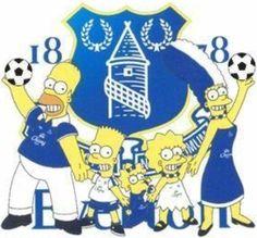 World Famous Fans of Everton Everton Fc, Football Memes, Ac Milan, Premier League, Disney Characters, Fictional Characters, Blues, Fans, Pictures