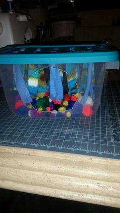 Hedgehog fleece forest and ball pit made it for my new hedgie