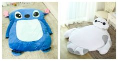 Giant Disney Character Beds for Big Cuddles