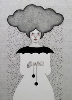 pretty illustrations Sofia Bonati