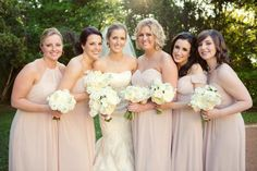 Relaxed bridesmaid hairstyles