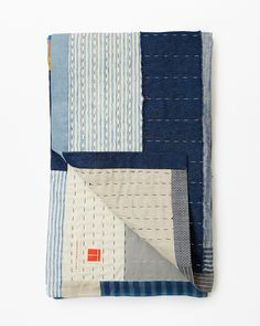 Thompson Street Studio blue quilt