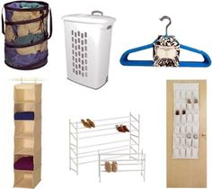 Closet Organization and other organization ideas