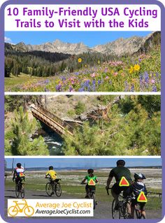 In this post, we showcase 10 family-friendly rides across the USA that are perfect for family bike rides. As far as family activities go, nothing gets everyone involved quite like cycling. Whether it's a day trip, short outing, or a multi-day adventure, cycling gives families a safe and fun opportunity to share wonderful experiences together. #AverageJoeCyclist #CyclingUSA #cycling #cyclist Bicycle Workout, Cycling Workout, Average Joe, Bike Rides, Training Plan, Bike Trails, Family Activities, Day Trip, Friends Family