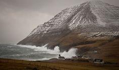 'stormy day'  Vldareide, Faroe Islands, Norway by Joannis Sorensen on flickr
