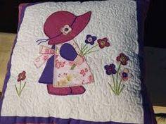 Resultado de imagen para cojines bordados en cinta para niñas