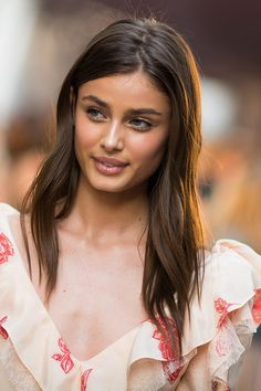Taylor Hill is the newest face of Lancôme – the beauty brand's youngest ever ambassadress at just 20 years old. Hill joins actresses including Lupita Nyong'o, Julia Roberts and Penelope Cruz in representing the brand, as well as fellow model Daria Werbowy