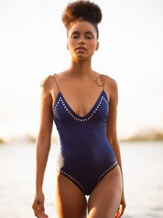 Would love this blue one piece!