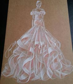 #MarchesaFashion @gipvision #FashionIllustrations| Be Inspirational ❥|Mz. Manerz: Being well dressed is a beautiful form of confidence, happiness & politeness