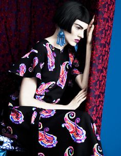 Photography by Erik Madigan Heck. Etro 2013.