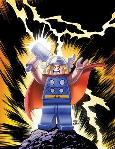 LEGO Thor by Leonel Castellani *
