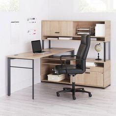 Layered L-Desk // Modern office furniture