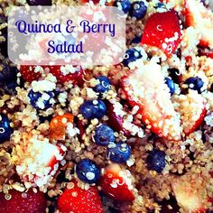 Quinoa and Berry Salad - a great summertime recipe