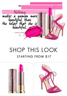 """""""Summer Lipstick"""" by alexosterberg ❤ liked on Polyvore featuring beauty, Urban Decay, GUESS and summerlipstick"""
