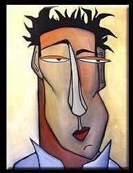 Art: Strange Desire - Face 513 by Artist Thomas C. Fedro