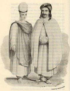 Yazidi Man and his Wife, 1800.