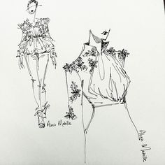 Currently obsessed with Alexis Mabille.