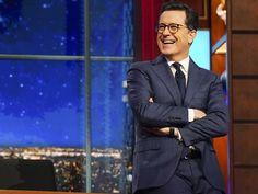Stephen Colbert is hosting a
