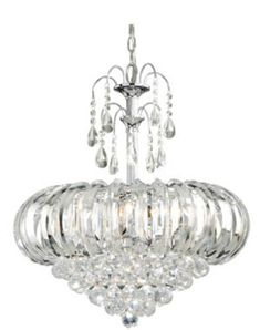 "Royal 5-Light 20.25"" Chrome Chandelier. $109.00 ($12 mail-in rebate, $97.01)"