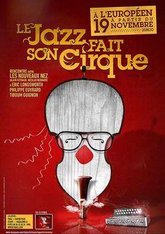 Le jazz fait son cirque on Behance