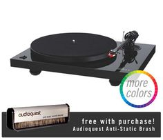 Music Hall: MMF 2.2 Turntable + Free Audioquest Brush