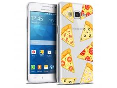Coque Crystal Galaxy Grand Prime Extra Fine Foodie - Pizza - 7,90 €