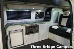 vw transporter camper interior - Google Search