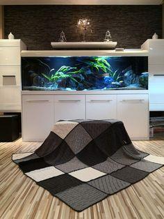piecefulplaid blanket plaid schachenmayr kal knitalong mix and knit knit wool blanket Wool Blanket, Stitch Patterns, Interior Design, Knitting, Bed, Home Decor, Life, Bed Covers, Plaid Crochet