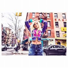 @beberexha is our spirit animal: You have to make yourself happy because you dont want to die regretting anything and saying that you lived for others. Thats one thing I dont do: I do not live for others. #flauntinprint #thecadenceissue #beberexha . Photographed by @instamaxmonty | Styled by @martinwaitt | Hair: @yasunakamura62 using @Oribe Hair Care | Makeup: @yacinediallo | Clothing: 1) @dsquared2 jacket and jeans @sydneyevan necklace @adore.jewelry rings and Bebes own choker and necklace…