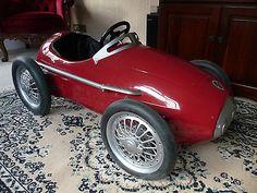 Rare Ferrari F2 Racer Pedal Car - http://classiccarsunder1000.com/archives/34180