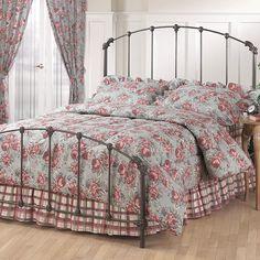 Bonita Metal Panel Bed