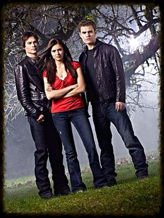 The Vampire Diaries - just on season 1... Addicted!