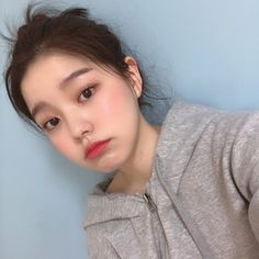 Korean Beauty Girls, Pretty Korean Girls, Korean Aesthetic, Aesthetic Girl, Korean Picture, Uzzlang Girl, Ethereal Beauty, Grunge Girl, Korean Makeup